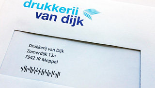 Direct Mail envelop couverteren